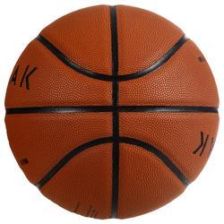 Basketball BT500 FIBA Größe7 braun