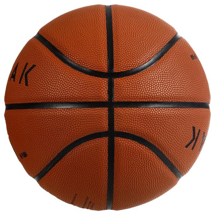Basketball BT500 Größe 7 Fiba Herren/Jungen ab 13 Jahren braun