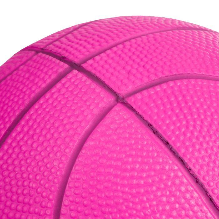 K100 Rose. Mini ballon de basketball enfant en mousse taille 1 jusqu'a 4 ans.