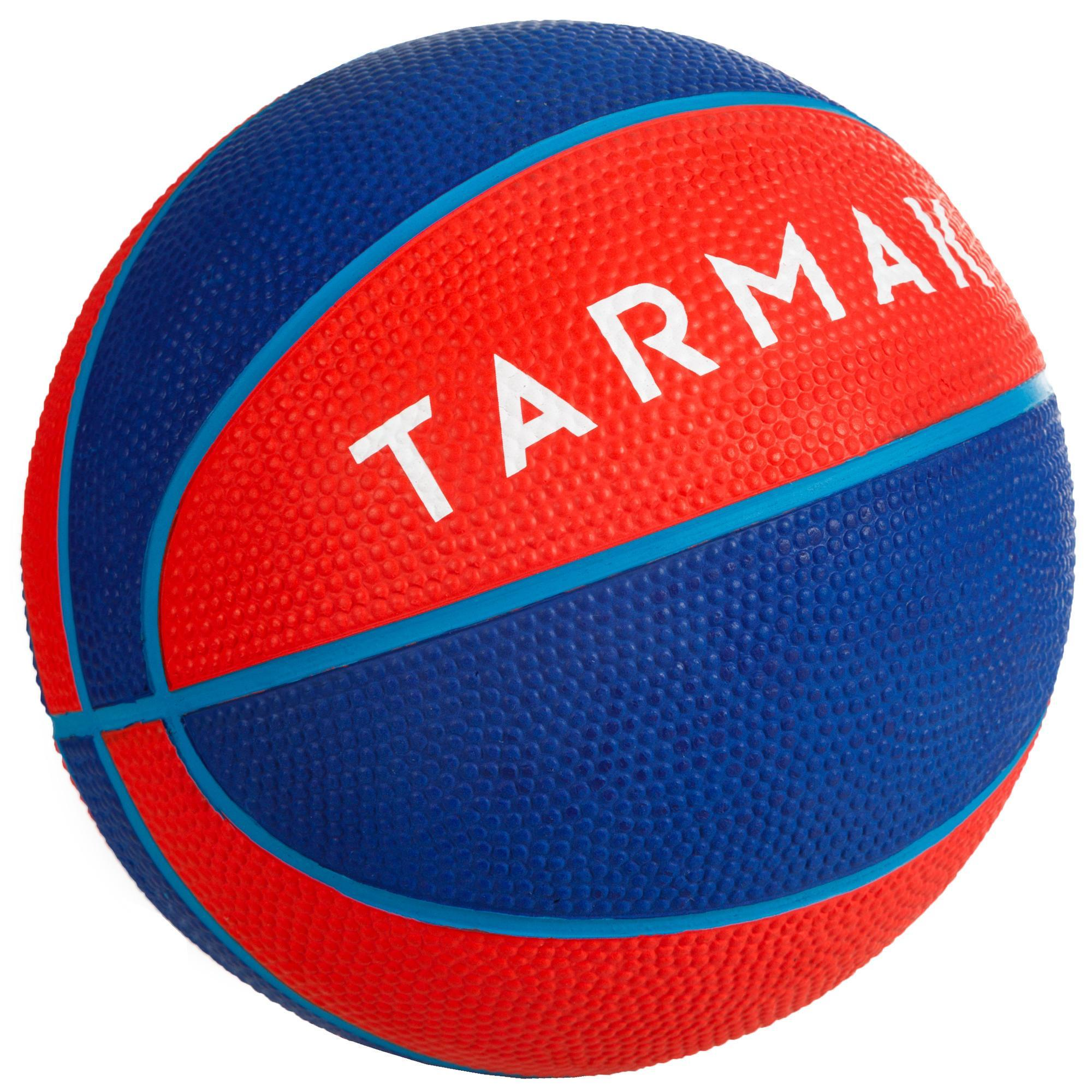 Tarmak Minibasketbal Mini B maat 1 voor kinderen. Tot 4 jaar. Rood