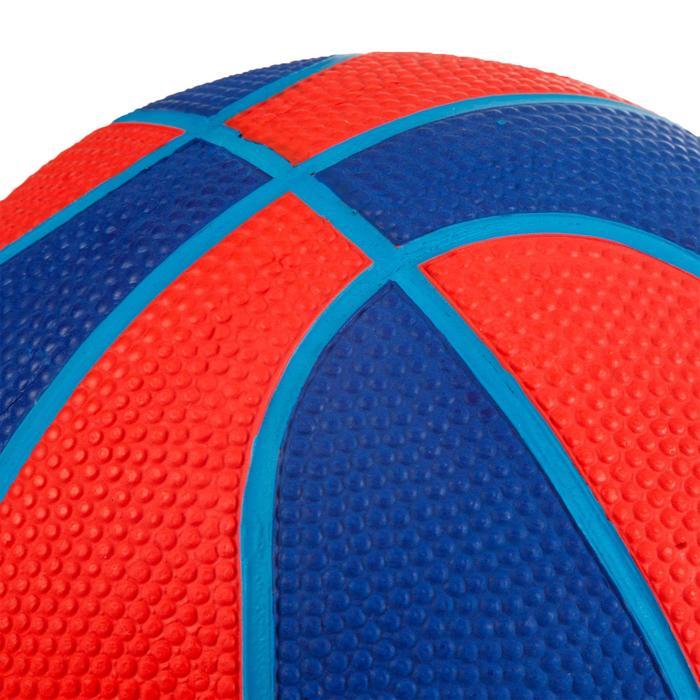 Minibasketbal Mini B maat 1 voor kinderen. Tot 4 jaar. Rood