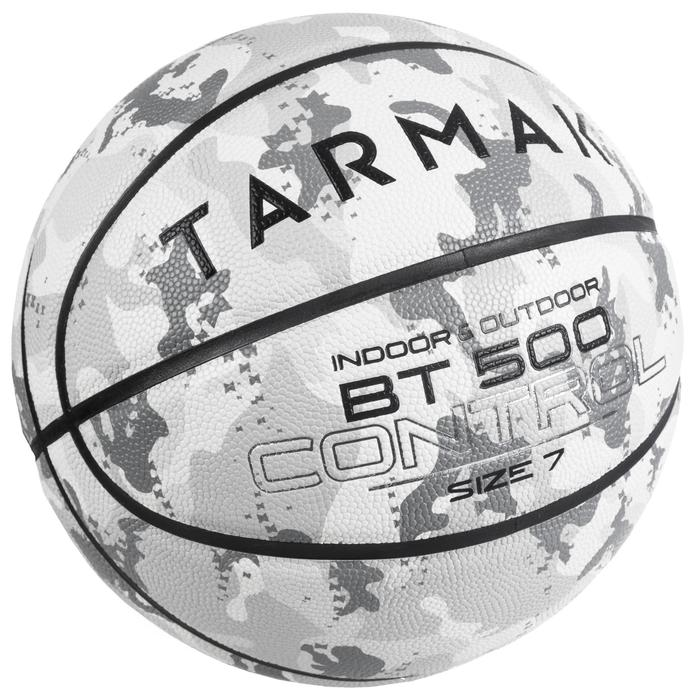 Basketbal BT500 M7 camouflage wit
