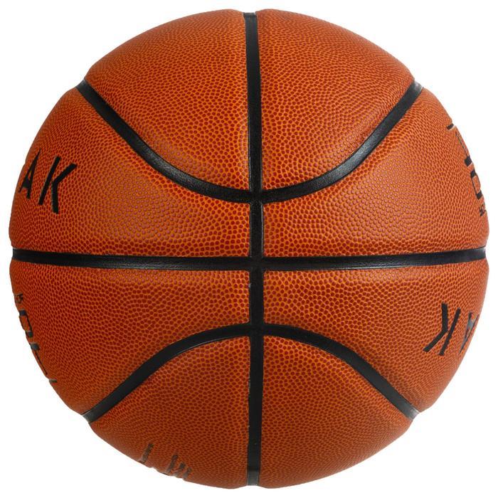 Basketbal BT100 maat 7 oranje voor jongens vanaf 13 jaar.