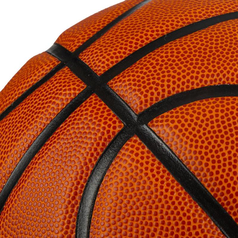BT100 Size 7 Basketball for Boys Older than 13 - Orange