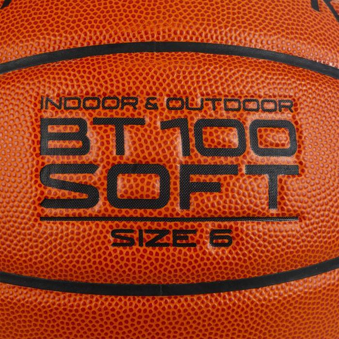 Basketbal BT100 M6 voor kinderen oranje Meisjes vanaf 11 jaar / jongens U13