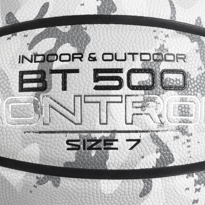 7號籃球BT500-迷彩和白色配色