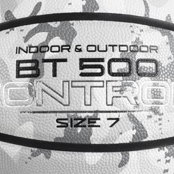 Balón de baloncesto BT500 T7 Cam. Blanco