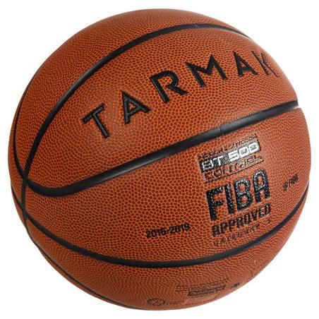 BT500 Kids' Size 5 Basketball - OrangeGreat ball feel