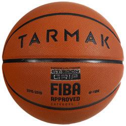 成人款7號好抓握籃球BT500X-橘色(絕佳球感)