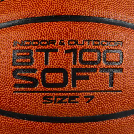 BT100 7 d. krepšinio kamuolys vyresniems nei 13 m. berniukams - oranž.