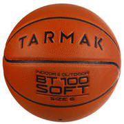 Kids'/Girls'/Boys'/Women's (Ages 11 and Up) Basketball BT100 Size 6 - Orange