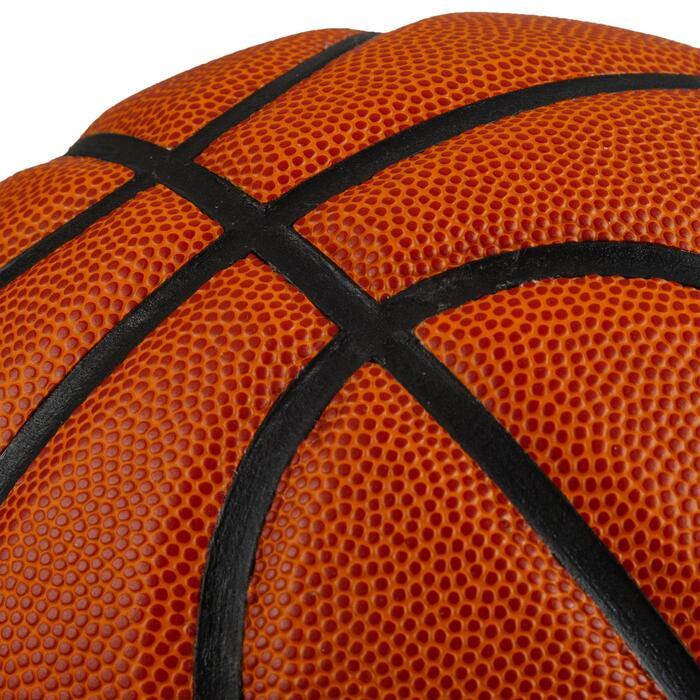 Basketball BT100 Größe 5 Kinder bis 12 Jahre Einsteiger orange