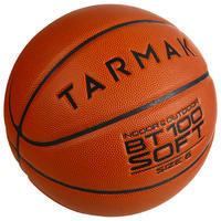 BT100 Kids' Size 6 Basketball - OrangeGirls ages 11 and up / Boys U13.
