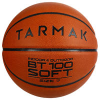 BT100 Size 7 Basketball for Boys Over 13 - Orange