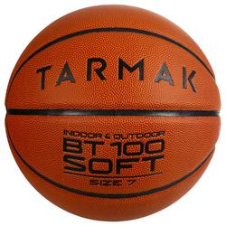BT100 Size 7 Basketball for Boys Older than 13 - Orange