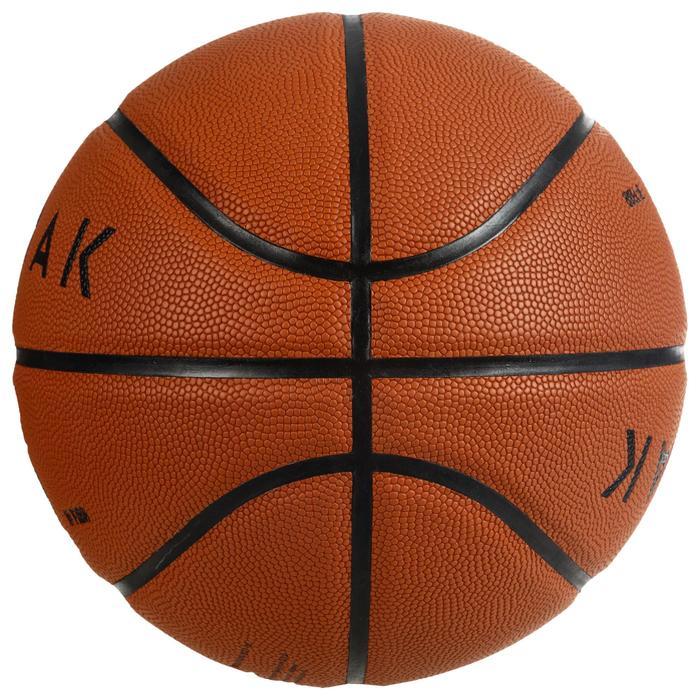 BT500 Grip Adult Size 7 Basketball - OrangeGreat ball feel