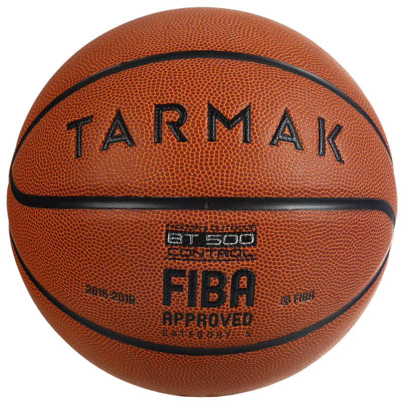 OFFICIALS BASKETBALL BALLS Basketball - BT500 Size 5 Ball - Orange TARMAK - Basketball