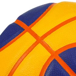 Ballon de basket BT500 pour la pratique basketball 3X3. Super toucher de balle.