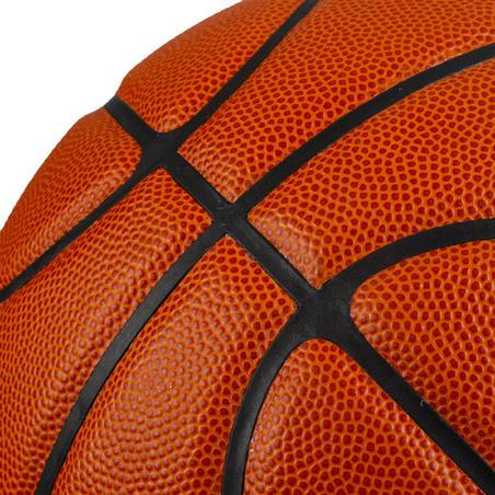 Ballon de basket enfant BT100 T6 orange. Filles à partir de 11 ans / garçons U13