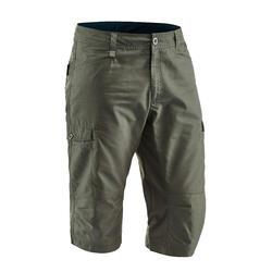 NH500 Men's Country Walking Cropped Bottoms - Khaki