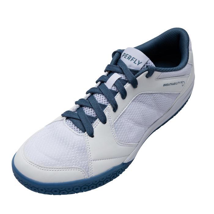 Badmintonschoenen voor heren BS 190 wit
