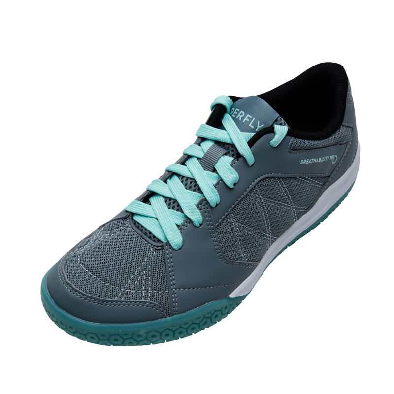 WOMEN BADMINTON SHOES BS 190 GREY