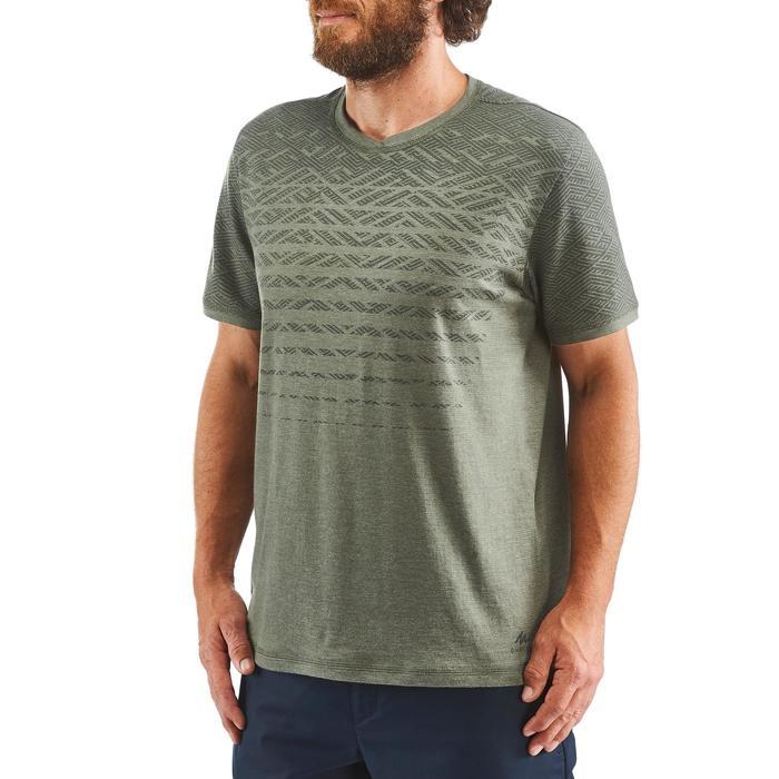 Wandel T-shirt voor heren NH500 Fresh