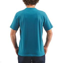 Wandelshirt NH500 blauw heren