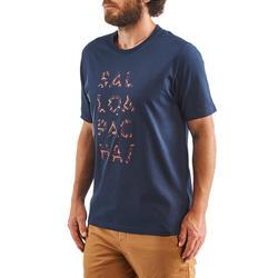 Men's T shirt NH500 - Navy Blue