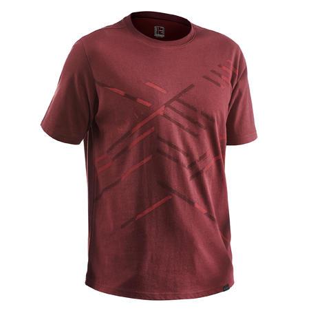 T-Shirt Jalan Pria NH500 - Cokelat