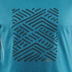 NH500 Men's Country Walking T-Shirt - Blue