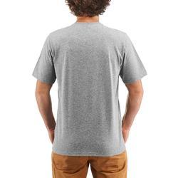 Wandelshirt voor heren NH500 grijs heren