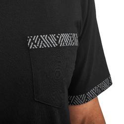 男款口袋T恤NH500-黑色