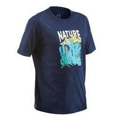 NH500 CN Men's Country Walking T-shirt - Navy