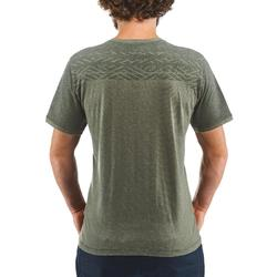 Wandel T-shirt voor heren NH500 Fresh kaki