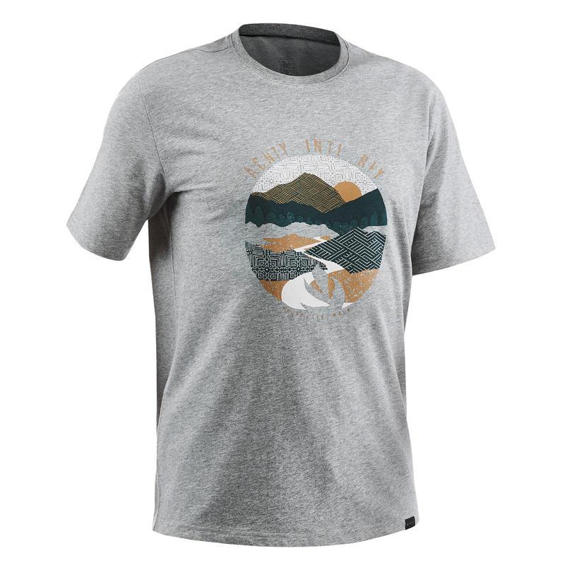 Men's T shirt NH500 - Grey