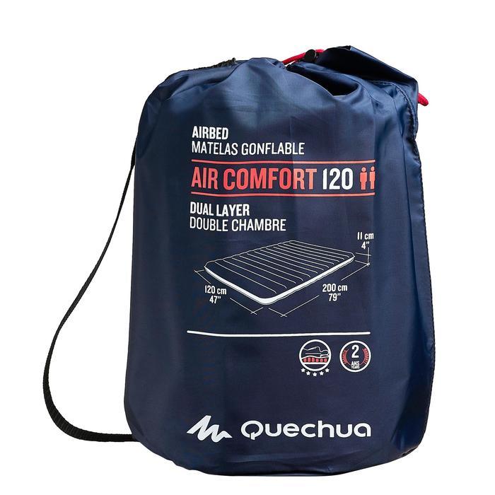 MATELAS DE CAMPING GONFLABLE AIR CONFORT | 2 PERSONNES - LARGEUR 120 CM