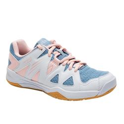 JUNIOR GIRL'S BADMINTON SHOES BS 500 PINK