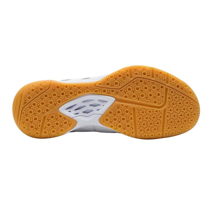 Chaussures De Badminton BS500 Junior - Blanc/Jaune