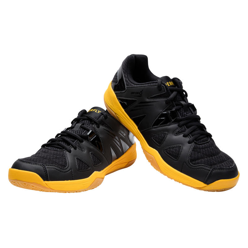 MEN BADMINTON SHOES BS 530 BLACK