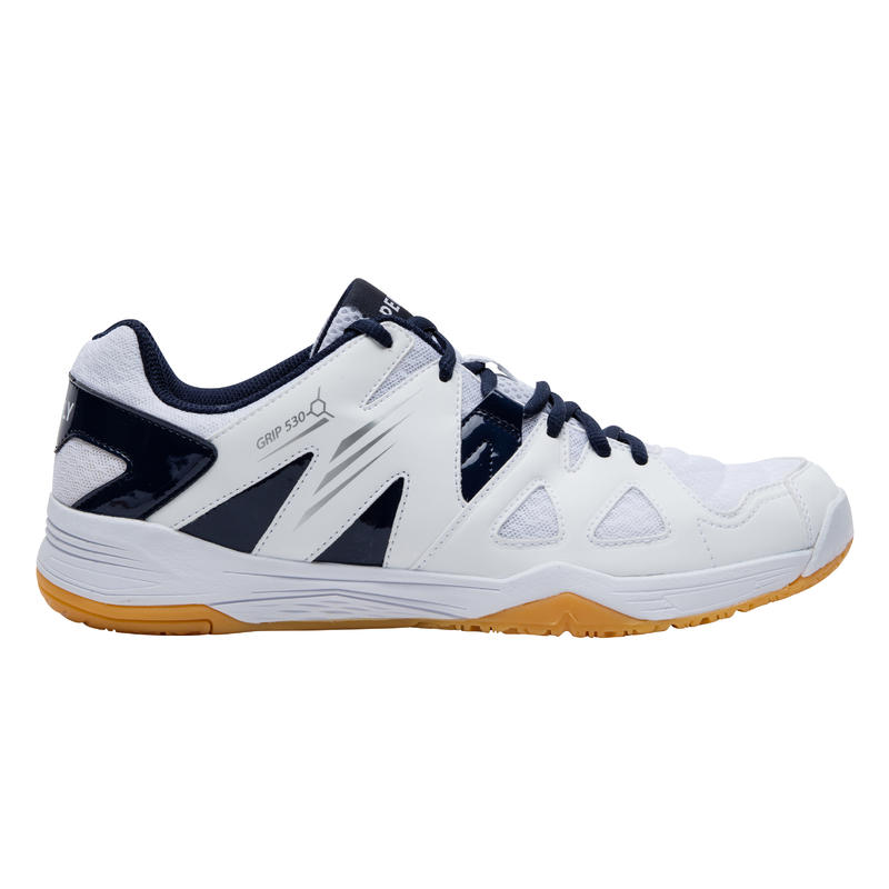 MEN BADMINTON SHOES BS 530 WHITE BLUE
