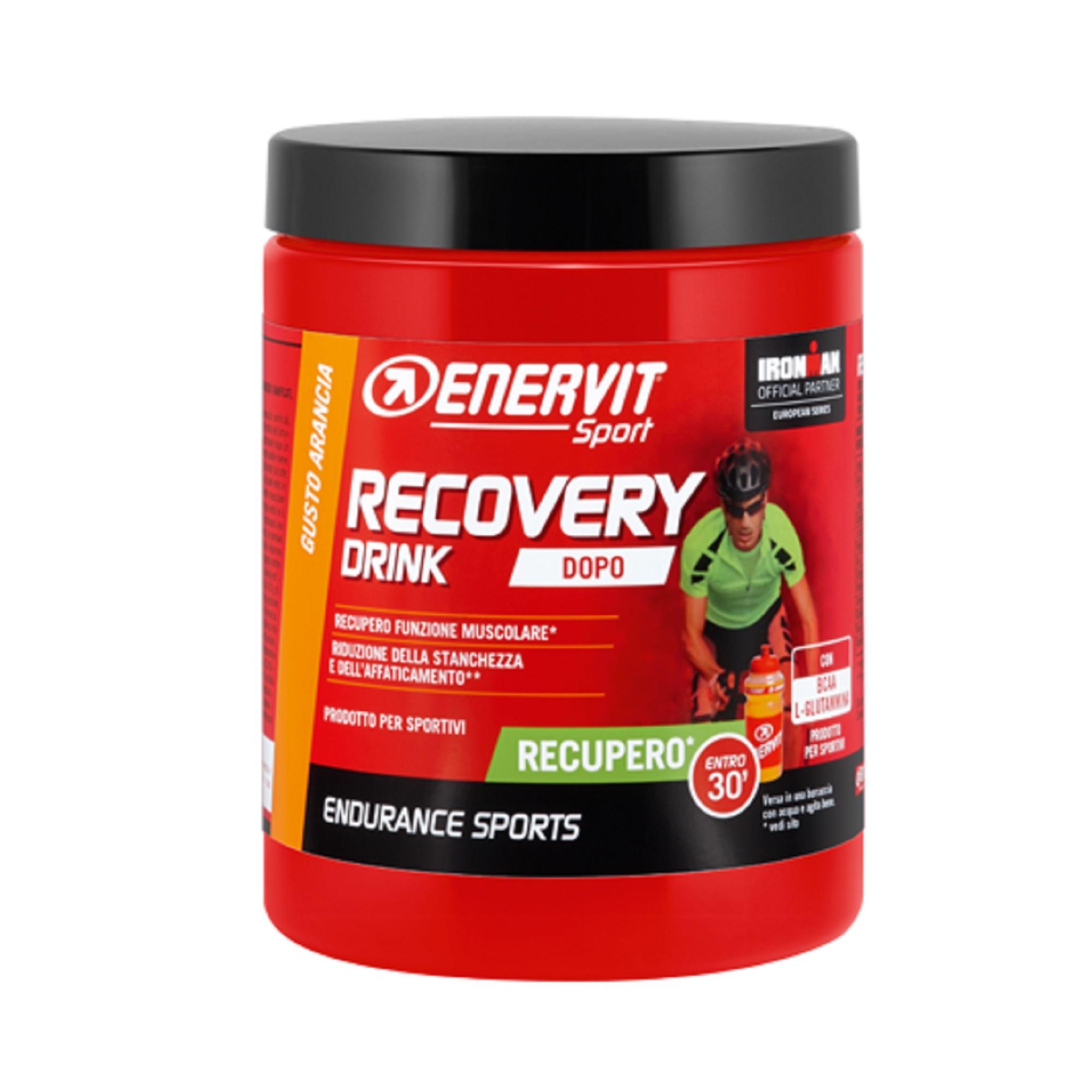ENERVIT. Bevanda per il recupero in polvere Recovery drink R2 Sport Arancia 400g Enervit