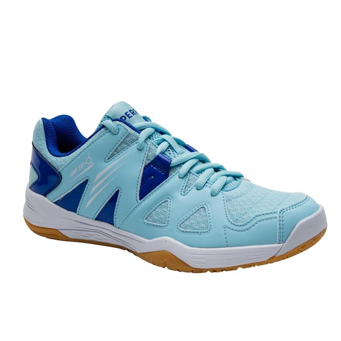 WOMEN BADMINTON SHOES BS 530 SKY BLUE