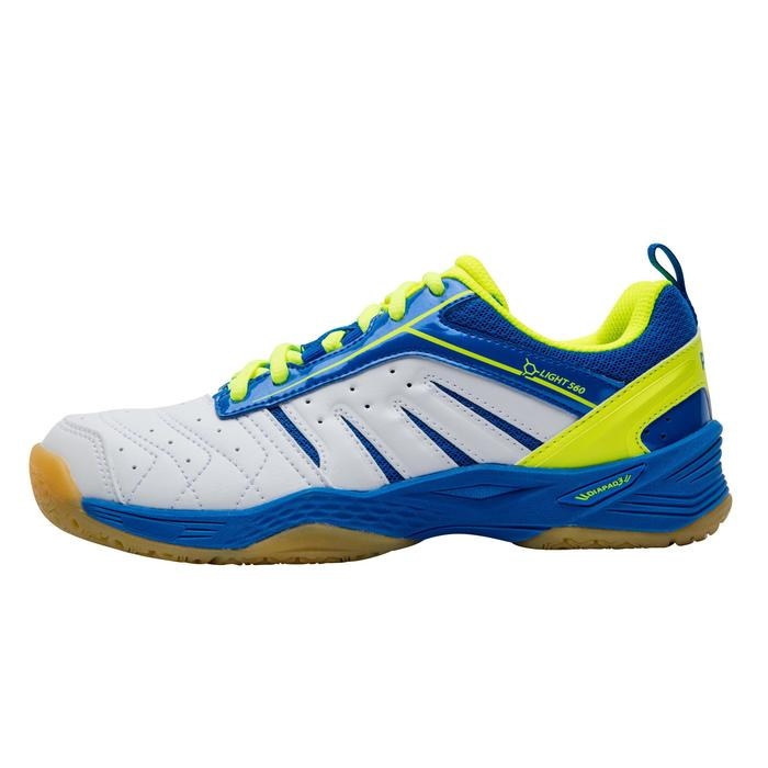 Chaussures De Badminton BS160 Lite Junior - Vert