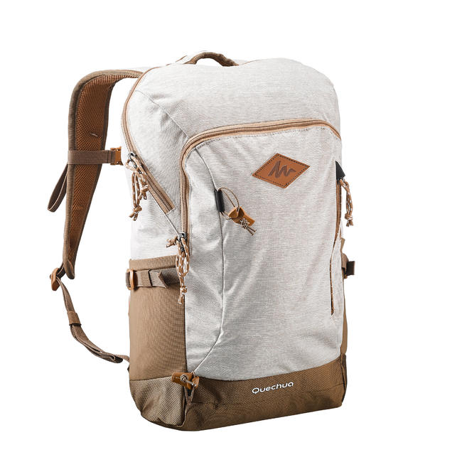 Hiking Bag 20 Litre (with Raincover) NH500 - Beige