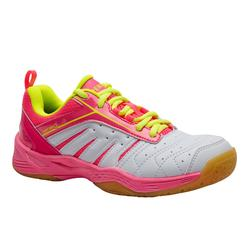 JUNIOR GIRL'S BADMINTON SHOES BS 560 LITE PINK