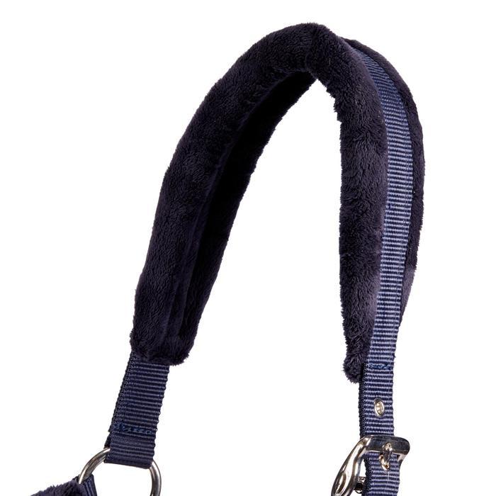 Cabestro Equitación Fouganza WINNER Azul Marino Poni y Caballo