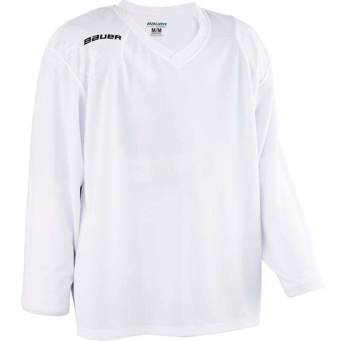 CAMISETA HOCKEY 200 BLANCA JR
