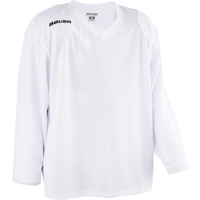 IJshockeyshirt voor kinderen B 200 wit