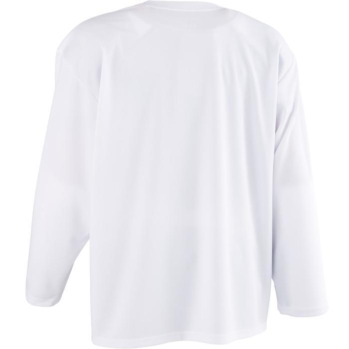 IJshockeyshirt voor volwassenen B 200 wit